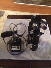 BAUSCH & LOMB 3-OBJECTIVE binocular MICROSCOPE W/ BAUSCH & LOMB Transformer