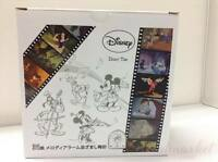 SEIKO Disney Melody Clock FD464S Color Silver Japanese Model New from JAPAN