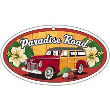 Surf City Garage Paradise Road Air Freshener - Woody - Fresh Linen Scent, 3 Pack