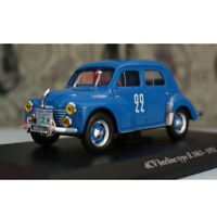 1:43 Renault 4CV berline type R 1063 Model Car Alloy Diecast Gift Toy Vehicle