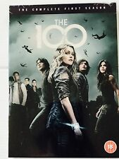 The 100 Season 1 (DVD) (C-18) - New sealed shrink wrapped 8 Episodes uk Edition