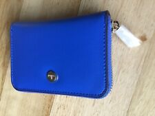 Cellini Dover Zip Around Wallet In Cobalt Colour (Brand New With Tags)