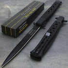 "12.5"" TAC FORCE SPRING ASSISTED STILETTO TACTICAL FOLDING POCKET KNIFE Blade"