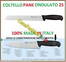 SANELLI COLTELLO PANE ONDULATO CM 25 61140 5368 PROFESSIONALE HORECA