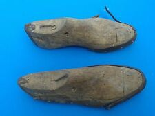 Poland vintage Wooden (Shoetrees-hooves) to boots from the interwar period.