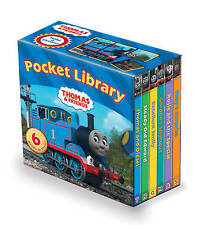 NEW  THOMAS THE TANK ENGINE POCKET LIBRARY of 6 BOARD BOOKS   SHELFWEAR
