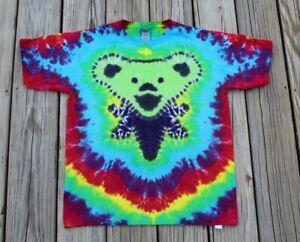 Grateful Dead BEAR Tie Dye T-Shirt KIDS XL