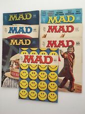 Mad Magazine 1972 - 1977 Lot of 7 (Nos. 150, 153, 167, 170, 174, 186, 194) FN/VF