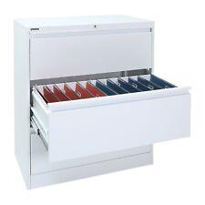3 Drawer Lateral Filing Cabinet - Brownbuilt Octave