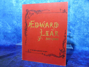 EDWARD LEAR 1812-1888 At The Royal Academy Of Arts PB BOOK by Vivien Noakes 1985