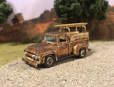 1954 Ford F-100 Truck Rusty Weathered 1/64 Diecast Hauler Barn Farm Find Rust