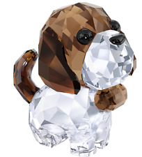 New in box Swarovski Puppy Bernie the Saint Bernard #5213704