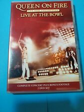 The Queen on Fire Live at The Bowl 2 DVD The dvd collection