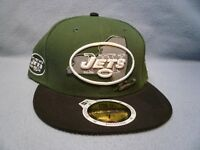 New Era 59fifty New York Jets State Reflective Sz 7 1/2 BRAND NEW cap hat Fitted