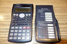 Casio FX 85 MS   Taschenrechner. Alt .   Solar (141)
