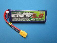 NANO-TECH 5000mAh 2S 7.4V 25C 50C LIPO BATTERY XT90 TRAXXAS ARRMA AXIAL YETI RC