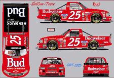 Cd_3373 #25 Rick Hendrick Budweiser Super Truck 1:64 Decals ~Sale~