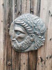 Antiguo Griego Zeus Placa De Pared De Ornamento del jardín de látex sólo mould/mold