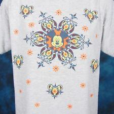 vintage 90s MICKEY MOUSE WALT DISNEY T-Shirt MEDIUM/LARGE cartoon design soft