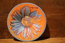 "Rosenthal DAISIES  - Big Saucer  ""Cafe Au Lait""  - Andy Warhol - New old stock"