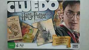 Harry Potter Cluedo Board Game  by Parker 2008 Unplayed