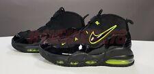 Nike Air Max Uptempo 95 Black Volt US 10 / EUR 44