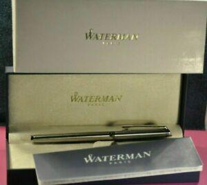 """Waterman"" Hemisphere  Essential  Chrome&CT Rollerball pen S0920450  NEW!"