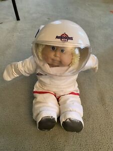 VINTAGE 1986 CABBAGE PATCH BLONDE BOY YOUNG ASTRONAUT