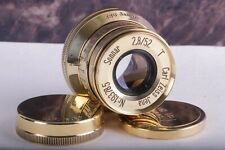 SONNAR Carl Zeiss Jena 2.8/ 52mm M39 Lens for Leica