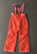 New Boden Ski Pants 11-12yrs All Weather Waterproof Trousers Orange 152cm