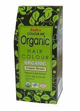 RADICO COLOUR ME ORGANIC NATURAL HAIR COLOUR - COPPER BROWN