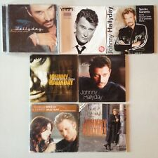 LOT CD ALBUM - SINGLE - PROMO SPECIAL JOHNNY HALLYDAY