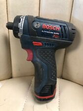 Bosch PS21 12V Max Lithium-Ion 2-Speed Cordless Pocket Driver w/ Battery only