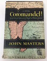 Coromandel HCDJ John Masters Viking Press 1955 Book (17-1653)