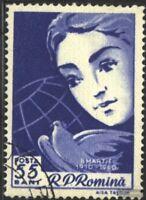 Rumänien 1839 (kompl.Ausg.) gestempelt 1960 Internationaler Frauentag