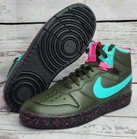 Nike Court Borough Mid 2 Boot Women's Sneakers Miami Vice BQ5440 300 Size 7Y NWB