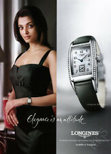 Aishwarya Rai Bachchan 1-page clipping 2006 ad for Longines