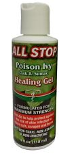 First Aid Poison Ivy, Oak, Sumac Anti Itch Healing Treatment Gel 4oz-by All Stop