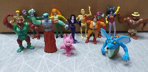 GHOSTBUSTERS filmation série complète 13 figurines yolanda CAZAFANTASMAS