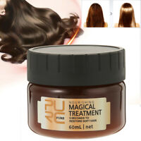 60/120ml PURC Crème Masque Nourrissant Cheveux Traitement Réparation Shampooing