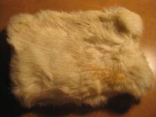 Vintage white Ermine? Rabbit? fur Ladies Hand Muff small