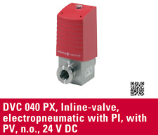 Pfeiffer Vacuum DVC 040 PX Electropneumatic Actuated Valve 24VDC PFD58234 [A7S3]