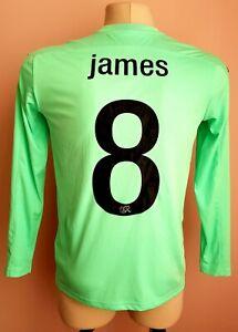 Switzerland 2019 - 2020 Goalkeeper football Puma drycell shirt #8 James