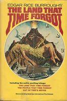 The Land That Time Forgot by Edgar Rice Burroughs (HardcoverDJ~BCE)