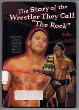 """The Story of the Wrestler They Call """"The Rock""""2001 Hardcover Book Dwayne Johnson"""