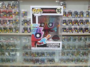 Funko Pop! Vinyl, Marvel Deadpool Birthday Glasses #783 in Pop Protector!