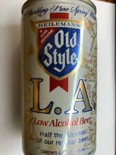 Old Style L.A. Low Alcohol empty beer can, 12 oz