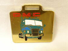 Nice Vintage GMC Cab Over Semi Tractor Shiny Brass All Metal Watch Fob
