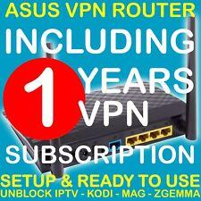 VPN ROUTER + 1 YEAR VPN UNBLOCK SPORTS IPTV ZGEMMA MAG KODI FIRESTICK XMAS GIFT