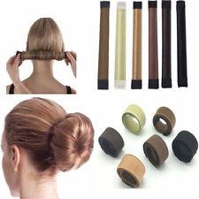 AM_ Women Hair Bun Maker Easy Magic Donut Styling Band Twist Updo Holder Tool No